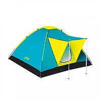 BW Палатка 68088, трёхместная , с навесом , водонепроницаемая