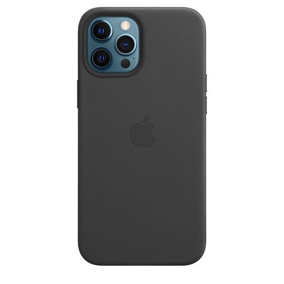 Чохол накладка xCase для iPhone 12/12 Pro Leather case with Full MagSafe Black