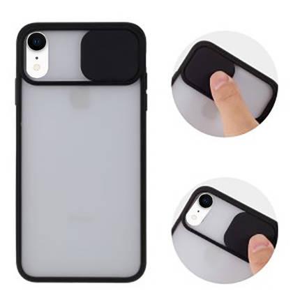 Чохол накладка xCase для iPhone XR Slide Hide Camera Black, фото 2
