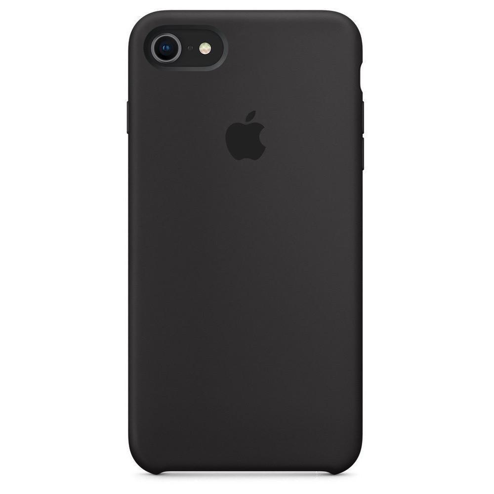 Чохол накладка xCase на iPhone 7/8/SE 2020 Silicone Case темно-коричневий