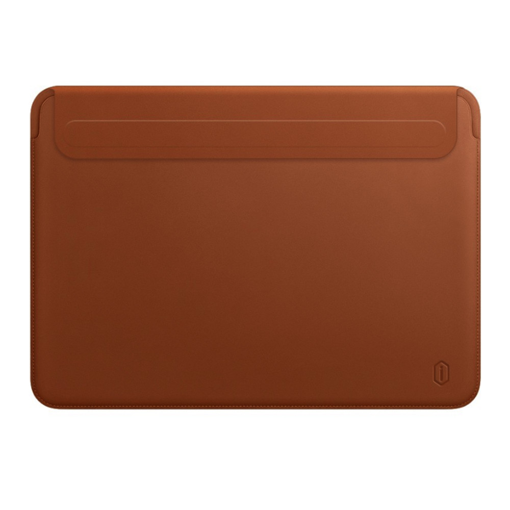 "Папка-конверт Wiwu Skin Pro2 Leather для MacBook Air 13,3"" (2018) brown"