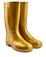 Женские сапоги Литма золото, фото 1