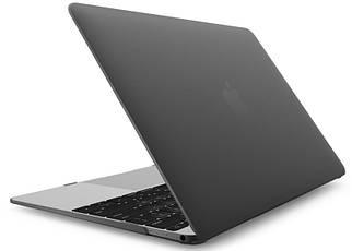"Чохол накладка пластик для MacBook 12"" matte black"