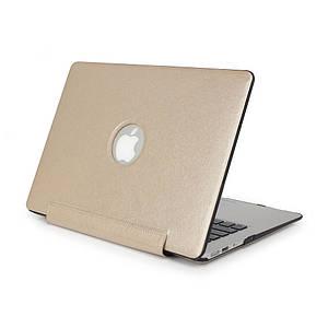 """Чехол накладка DDC PU для MacBook Pro 15"""" Retina (2012-2015) gold"""