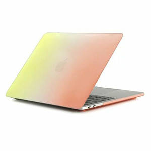"Чехол накладка DDC пластик для MacBook Pro 15"" Retina (2012-2015) rainbow orange"
