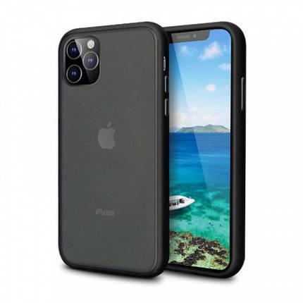 Чехол накладка xCase для iPhone 12 Pro Max Gingle series black, фото 2
