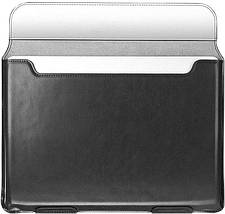 Папка конверт для MacBook Leather standing pouch 13'' black, фото 2
