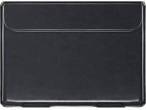 "Папка-конверт для MacBook Leather standing pouch 13"" black, фото 3"