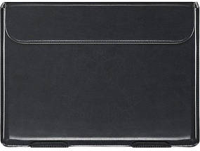 Папка конверт для MacBook Leather standing pouch 13'' black, фото 3