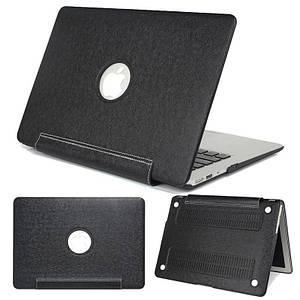 "Чехол накладка DDC PU для MacBook 12"" black"