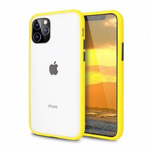 Чохол накладка xCase для iPhone 12 Mini Gingle series yellow black