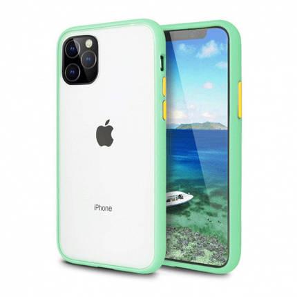 Чохол накладка xCase для iPhone 12 Pro Max Gingle series mint orange, фото 2