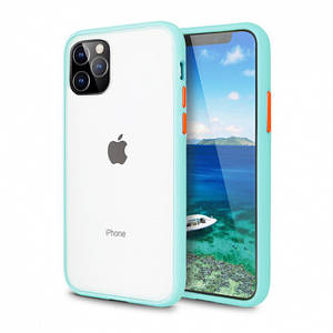 Чохол накладка xCase для iPhone 12 Mini Gingle series light blue orange