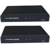 Удлинитель HDMI по витой паре  (sender + receiver) (GC-383pro)