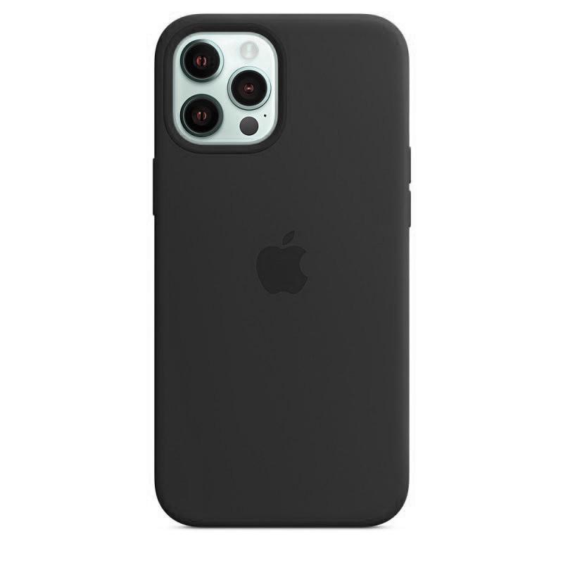 Чехол накладка xCase для iPhone 12 Pro Max Silicone Case Full черный