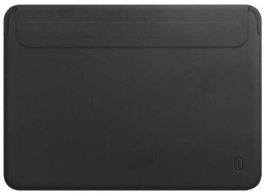 Папка конверт Wiwu Skin Pro2 Leather для MacBook 15,4'' black