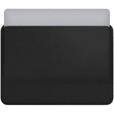 Папка конверт Wiwu Skin Pro2 Leather для MacBook 15,4'' black, фото 2