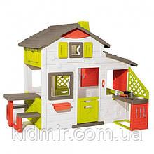 Садовий будиночок для друзів c кухнею Smoby 810202