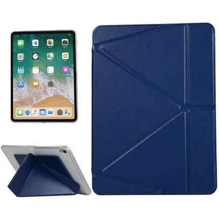 "Чехол Origami Case для iPad Pro 11"" (2020) Leather dark blue, фото 2"