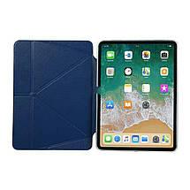 "Чехол Origami Case для iPad Pro 11"" (2020) Leather dark blue, фото 3"