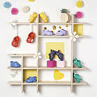 Обувь для куклы BABY born - Праздничные сандалии кроксы с значками (красные) Zapf Creation  828311-3, фото 3