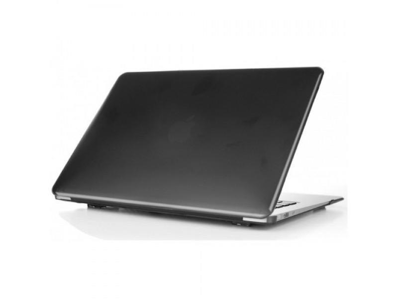 "Чехол накладка пластик для MacBook 12"" crystal black"
