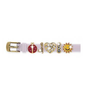Силіконовий Браслет Biojoux BJB005 Charms Bracelet MIX 5 White (4669)