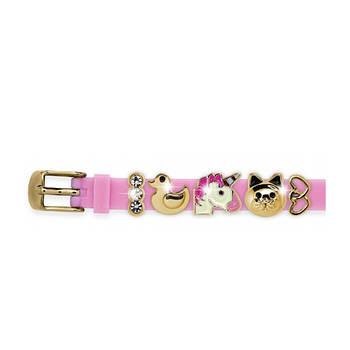 Силіконовий Браслет Biojoux BJB006 Charms Bracelet MIX 6 Pink (4670)