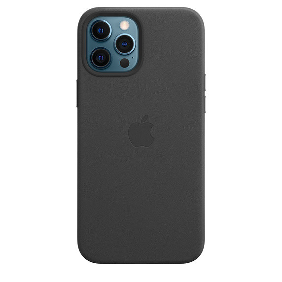 Чохол накладка xCase для iPhone 12 Pro Max Leather case with Full MagSafe Black