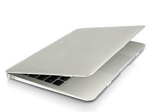 "Чохол накладка DDC metal для MacBook 12"" silver"