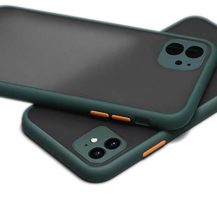 Чохол накладка xCase для iPhone 11 HULK Forest green, фото 2