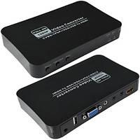 Конвертор AV+RGB+VGA+USB в HDMI (MT-PC401)