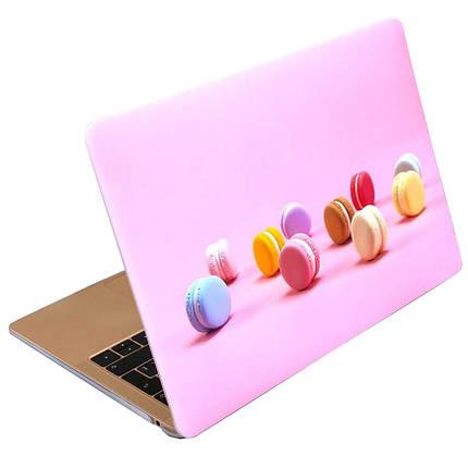 "Чехол накладка DDC пластик для MacBook Air 13"" (2008-2017) picture macaron cake, фото 2"