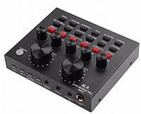 Зовнішня звукова карта V8 USB-гарнітура для мікрофона (15х10)