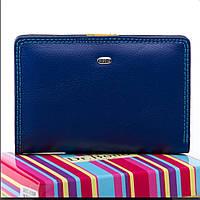 Женский кожаный кошелек  13.5x9.5x2.5 синий, фото 1