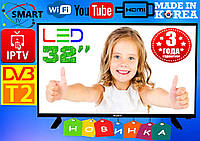 "ХИТ! Супер телевизоры Sony SmartTV Slim 32"", LED, IPTV, T2, WIFI,USB,КОРЕЯ, гарантия 3 года!"