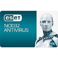 Антивирус ESET NOD32 Antivirus 2ПК 12 мес. base/20 мес продление конверт (2012-17-key)