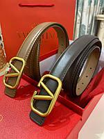 Женский кожаный ремень Valentino (реплика), фото 1