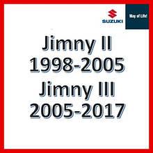 Suzuki Jimny II 1998-2005, Jimny III 2005-2017