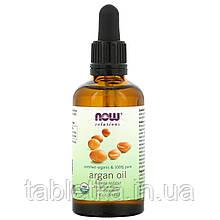 Now Foods, Органическое аргановое масло, 2 ж. унц. (59 мл)