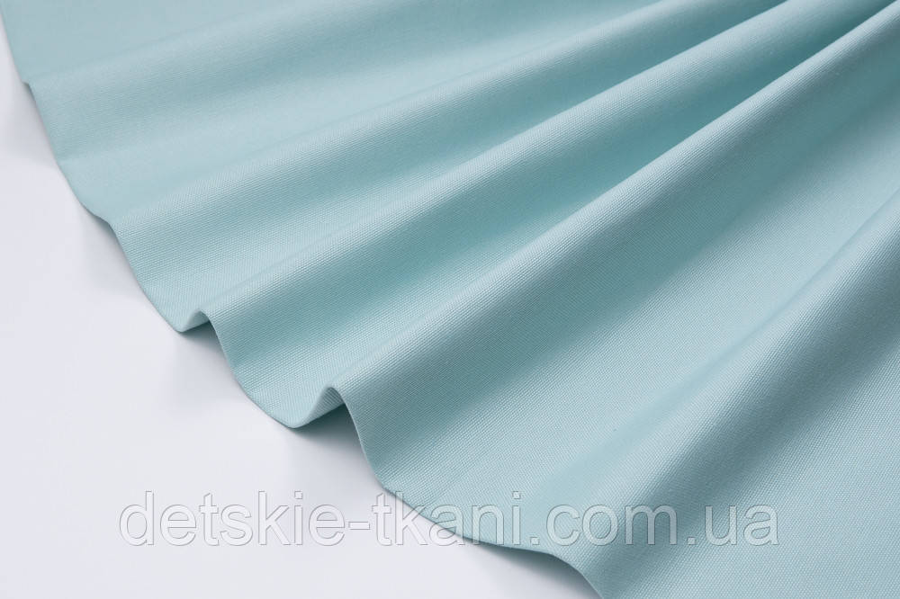 Лоскут однотонної тканини Duck м'ятного кольору 50 * 45 см