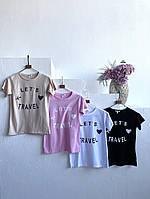 Жіноча футболка з принтом, фото 1