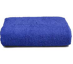 Полотенце махровое 70х140 синее 430 г/м²
