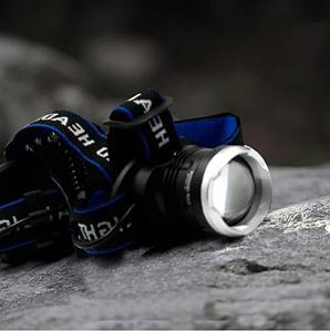 Потужний налобний ліхтарик Bailong BL T24 - P50 2*18650 battey