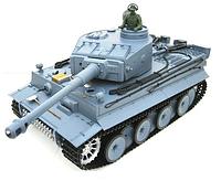 Танк Heng Long German Tiger І 1:16 3818-1 (нова версія 7.0) пневматична пушка, димогенератор, інф.червоний бій