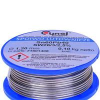 Припой Cynel Sn60Pb40-SW26 1.2мм, 100г
