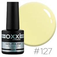Гель-лак Oxxi Professional №127 (світлий лимонний, емаль), 10мл