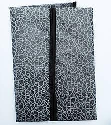 Чехлы для хранения одежды полиэтиленовые на молнии черного цвета, 90х60см