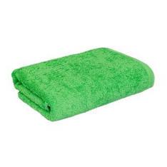 Полотенце махровое  70х140 зеленое 430 г/м²