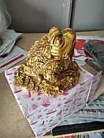 Уценка! Статуэтка фэн - шуй денежная жаба, высота 10 см.